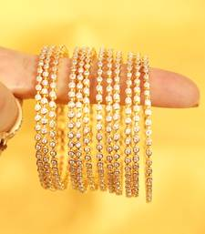 Buy Diamond Look Fine  Bangles bangles-and-bracelet online