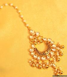 Kundan Antique Traditional Maang Tikka