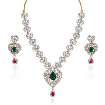 Heena Contemporary  Love collection Necklace set