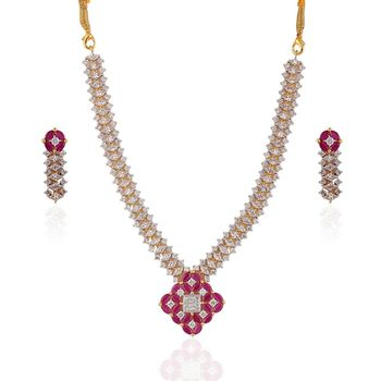 Heena Trendy Collection Necklace Set >> HJNL124 <<