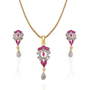 Heena Fashion Exclusive Collection Pendant Set >> HJPN110 <<