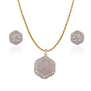 Heena Elegant Floral Pendent set >> HJPN126 <<