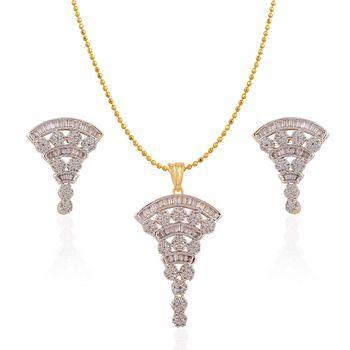 Heena Fashion Exclusive Collection Pendant Set >> HJPN140 <<