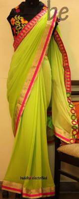 Butterfly Effect Saree