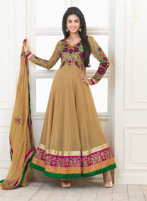 Long Anarkali Churidar Fabric SC5001