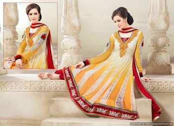Long Anarkali Churidar Fabric SC2010