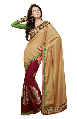 Triveni Aristocratic Party Wear Art Silk Viscose Jacquard Indian Ethnic Saree