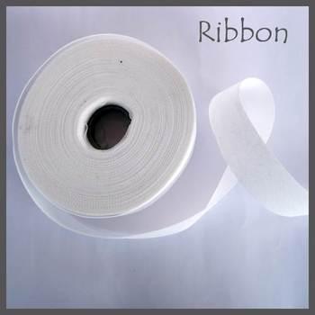 Non Woven Ribbon White - 45 Mtrs
