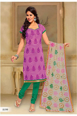 Casual Wear Pink Dress Material