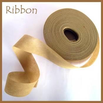 Non Woven Ribbon Beige - 45 Mtrs
