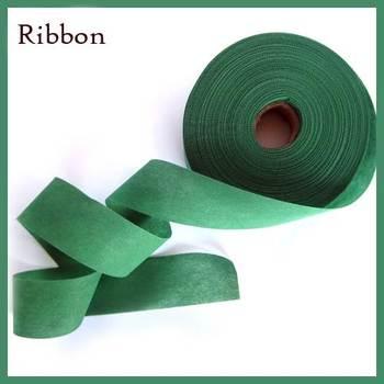 Non Woven Ribbon Green - 45 Mtrs