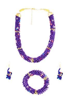 Designer Necklace & Bangle Set