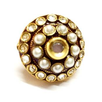 Craftstages Rajwadi Polki Style Ring