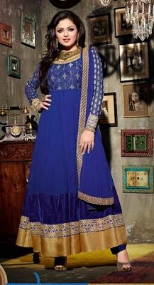 Fashionable Madhubala Designer Anarkali Suit
