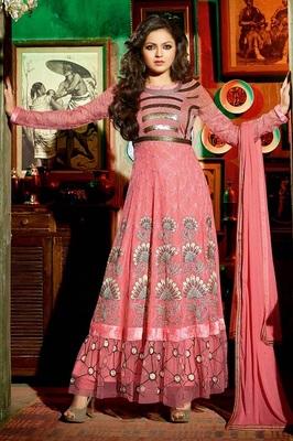 Party Wear Madhubala Designer Anarali Suit
