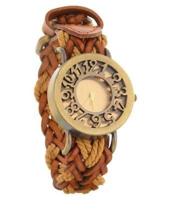 New Fashion Casual Light Brown color watch Famous Brand Quartz Watch Wristwatch