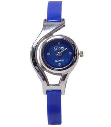 Buy New Fashion Casual Blue color watch Famous Brand Quartz Watch Wristwatch watch online
