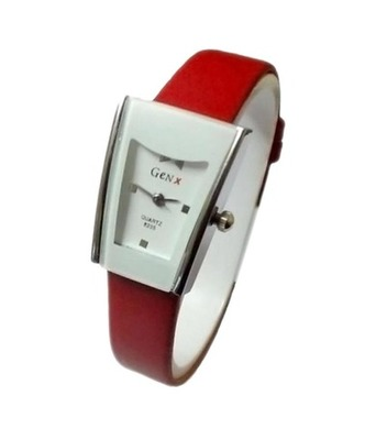 New Fashion Casual Red color watch Famous Brand Quartz Watch Wristwatch