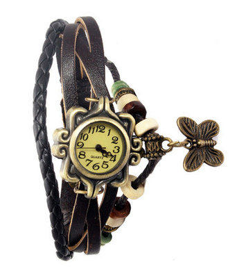 New Fashion Casual Brown color watch Famous Brand Quartz Watch Wristwatch
