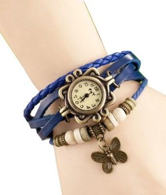 New Fashion Casual Blue color watch Famous Brand Quartz Watch Wristwatch
