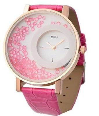 New Fashion Casual Pink color watch Famous Brand Quartz Watch Wristwatch