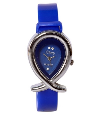 New Fashion Casual Blue color watch Famous Brand Quartz Watch Wristwatch