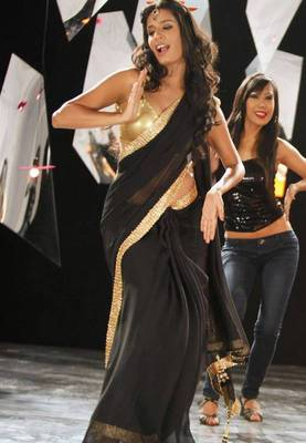 Black Bollywood Replica Saree
