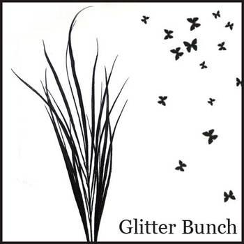 Glittery Glittery Grass - Black
