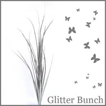 Glittery Glittery Grass - Silver