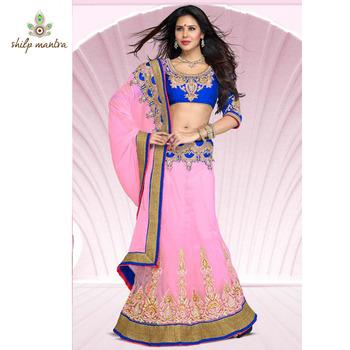 Lehenga Style designer Saree