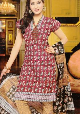 Dress material cotton designer prints unstitched salwar kameez suit d.no NZ2006