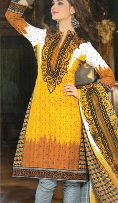 Dress material cotton designer prints unstitched salwar kameez suit d.no NZ2013