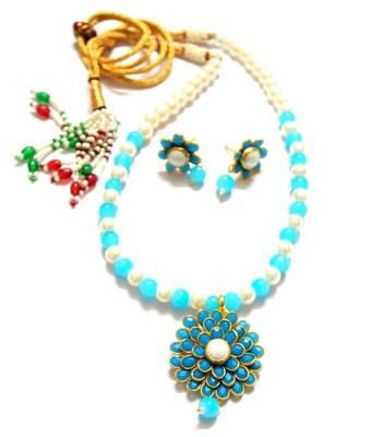 Small locket pachi necklace set
