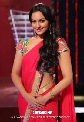 Sonakshi Sinha Bollywood Replica Saree