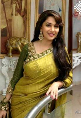 Madhuri Dixit Bollywood Replica Saree