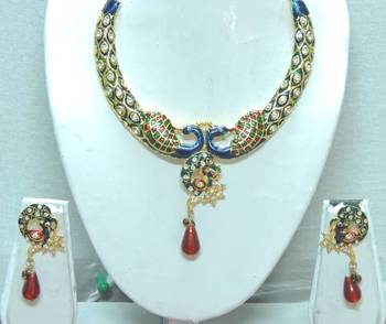 Traditional Peacock Shape Handmade Jewellery For Women