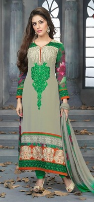 Awesome Designer long Straight Suit