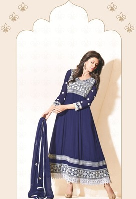 Sushmita Sen Party Wear Designer Anarkali Suit