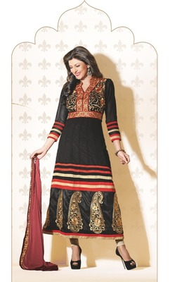 Sushmita Sen Fashionable Designer Anarkali Suit