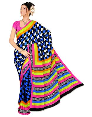 Dealtz Fashion Assorted Gadwal Silk Saree
