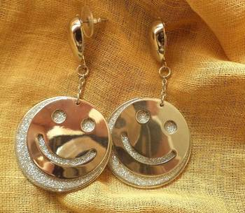 Smiley Earrings-06097