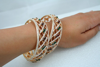 Designer Bangle (set of 2)