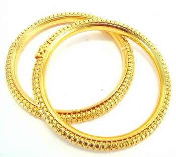 Gold plated 2pcbangle me236