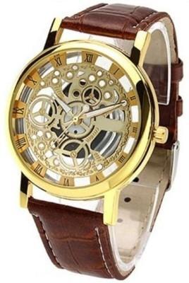 New Fashion Casual Brown color Stylist Quartz Wristwatch