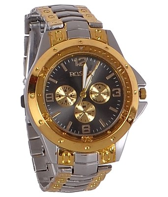 New Fashion Silver and golden color stylist Boy's wear Wristwatch
