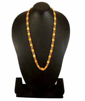 Gold Alloy Necklace Artifical Jewellery For Women