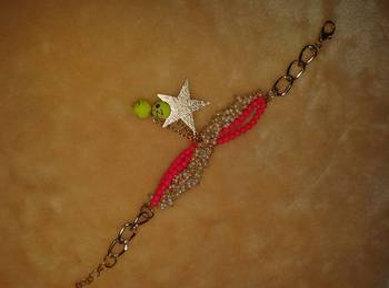 fancy antic peal bracelate