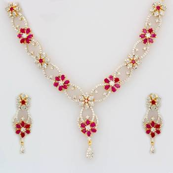 Cubic Zirconia Necklace Sets