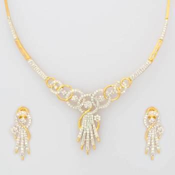 Cubic Zirconia Necklace Sets