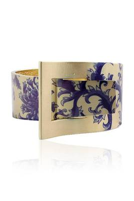 Just Women Blossom Print  Trendy Hand Cuff